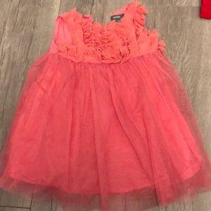 New girls dress gap pink 6-12mo